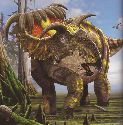 Ultimate Dinopedia Kosmoceratops