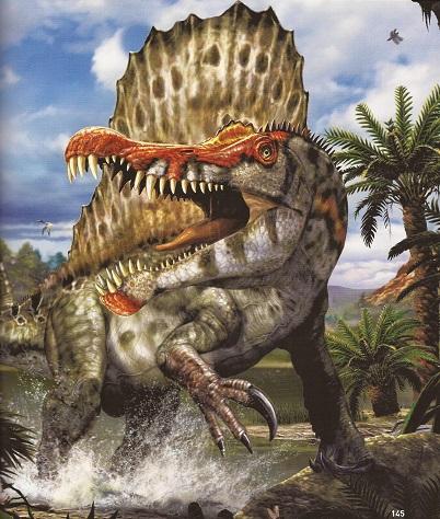 Ultimate Dinopedia Spinosaurus