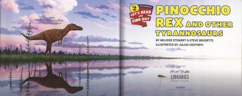 Pinocchio Rex lake