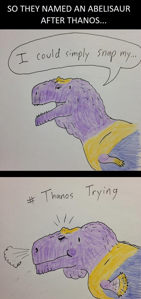 Thanos Trying