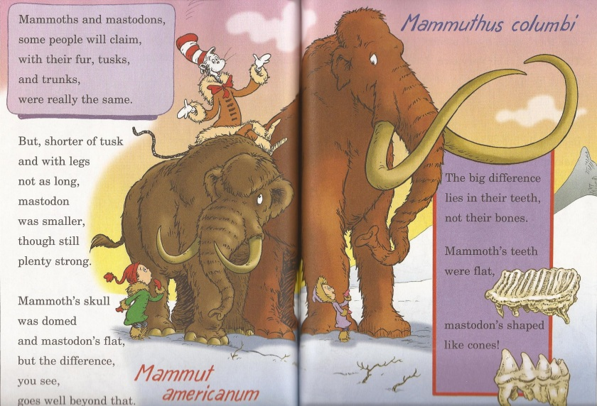 mammoth vs mastodon