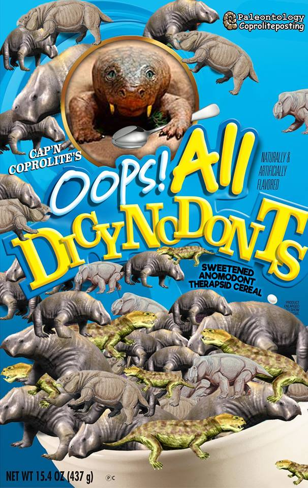 Oops! All Dycynodonts by Jason Christopher