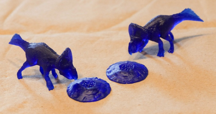 3D print Protoceratops prototypes