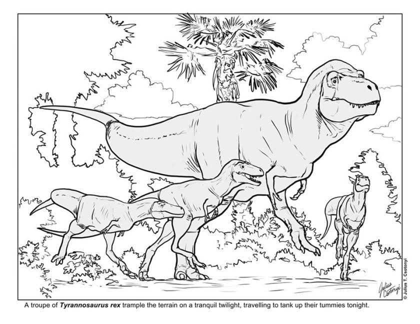Julius Csotonyi T. rex