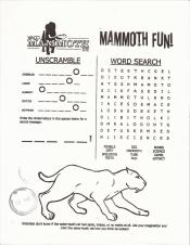 waco mammoth word search