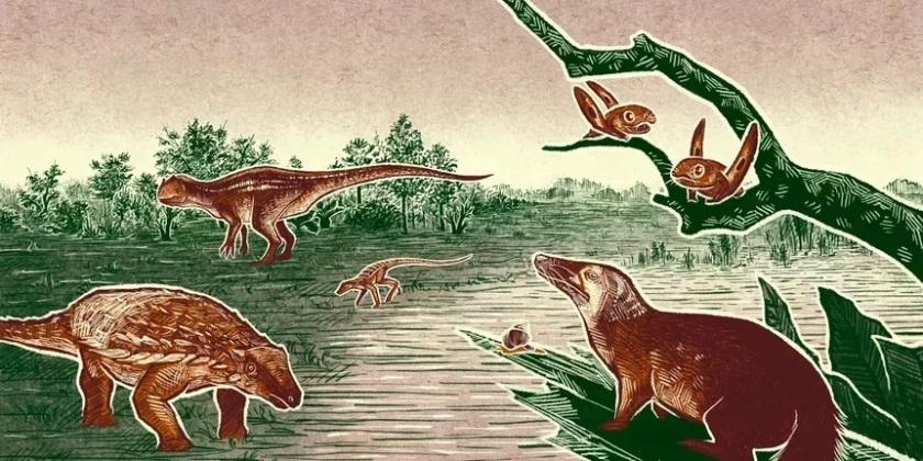 Jurassic Scene - Prehistoric Road Trip